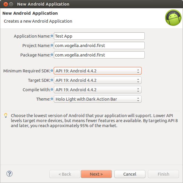 Tutoriel Sur Le Developpement Android Avec Studio Et Eclipse